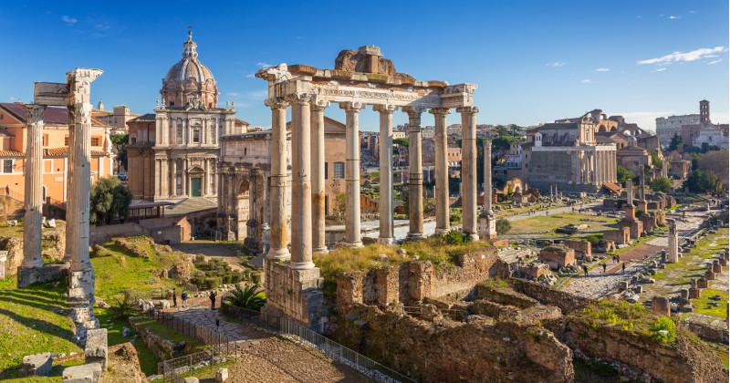 Forum Romanum i Rom