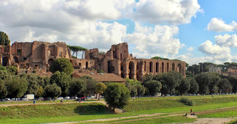 palatinen palatino i rom