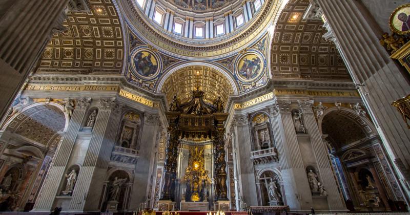 peterskyrkan i Vatikanen