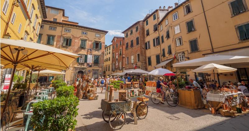 Områden i Rom.