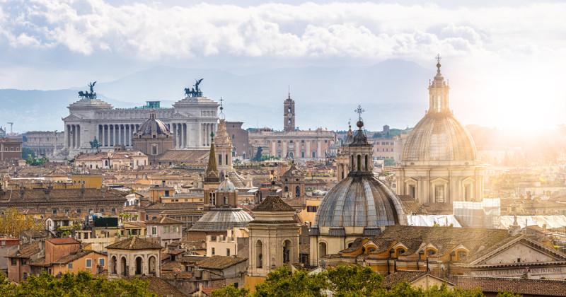Väder i Rom.
